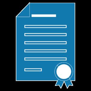 icone certificação